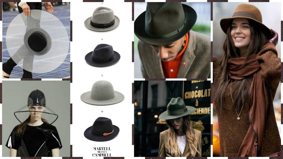 Collage Cappelli Pioggia