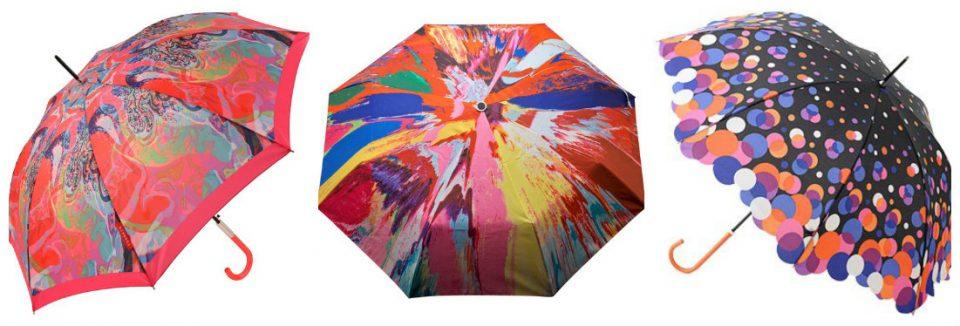 Collage Ombrelli Pioggia